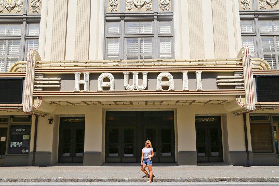 Hawaii Theater Oahu