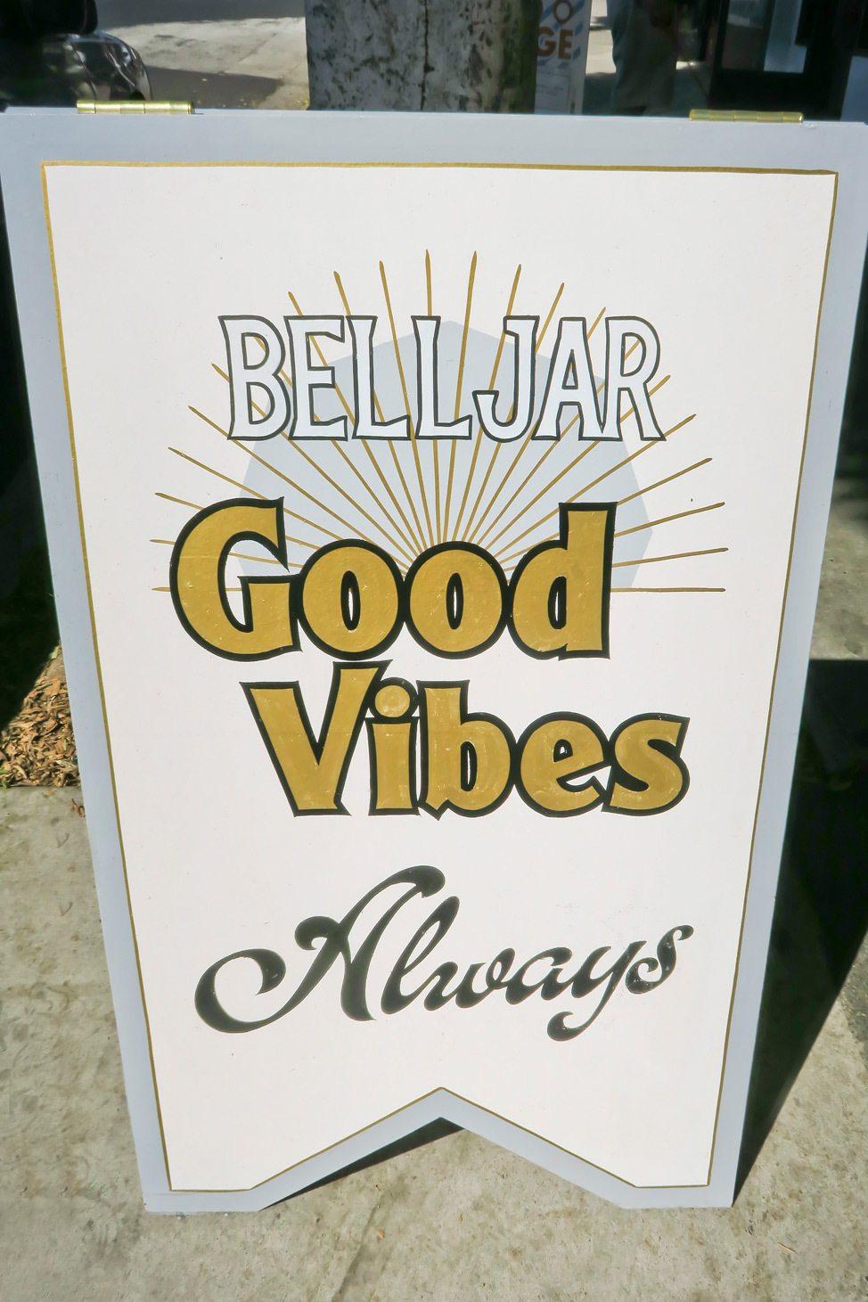 Sign in Los Feliz, Los Angeles