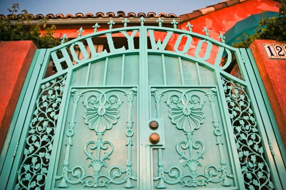 Hollywood Gate, Los Angeles