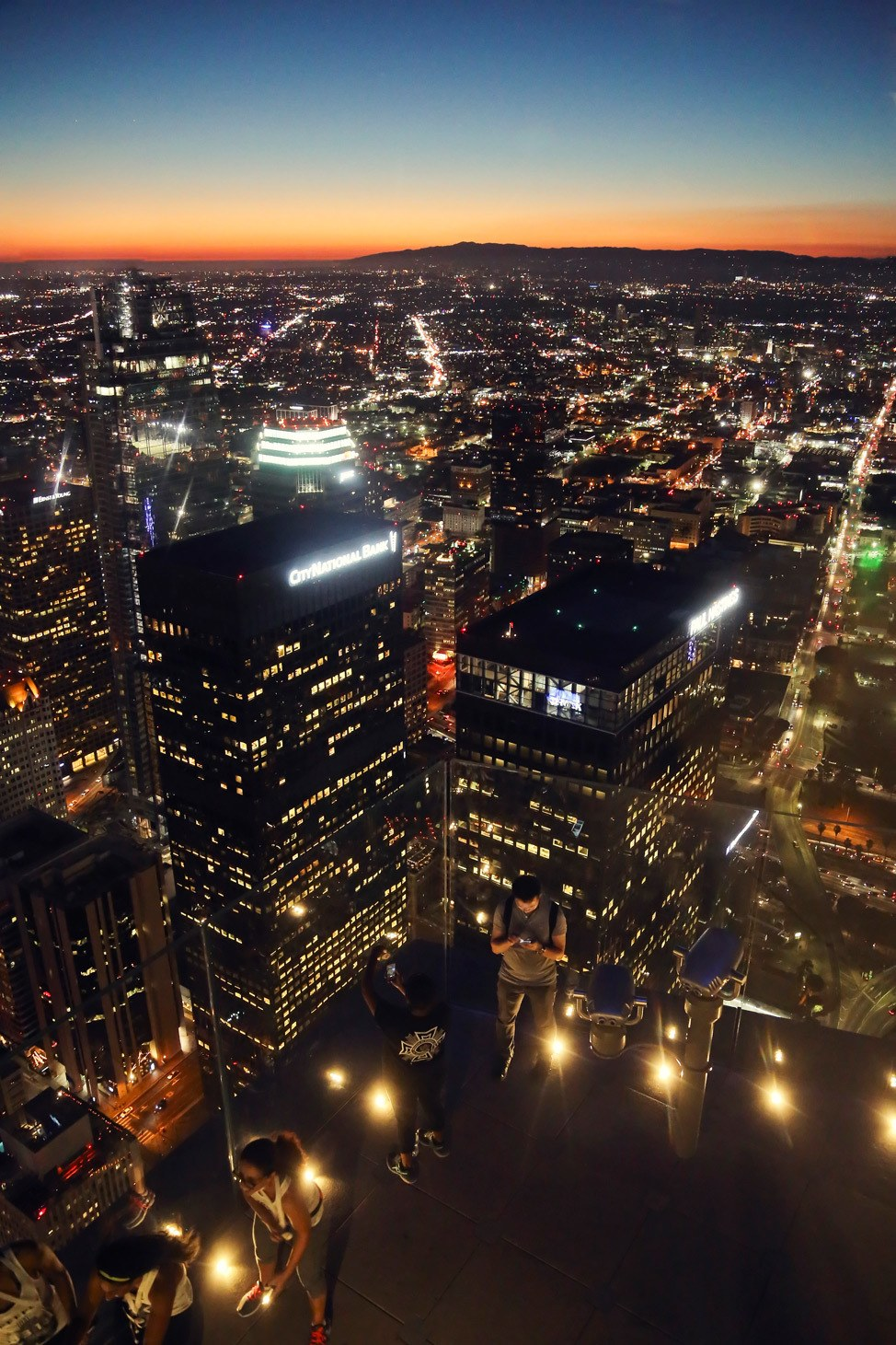 View from OUE Skyspace LA