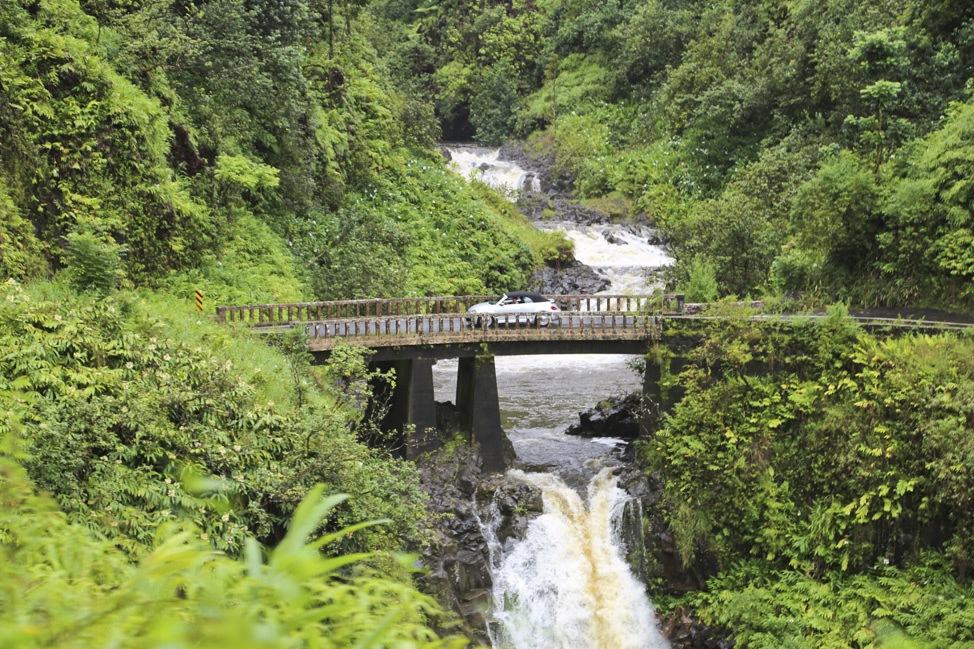 Makapipi Falls, Road to Hana, Maui