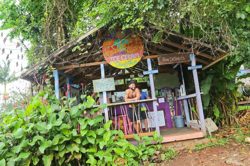Coconut Glen's, Road to Hana