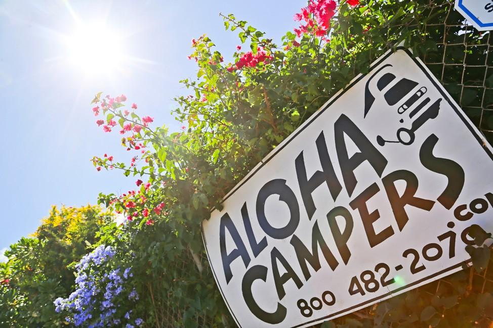 Aloha Outdoors Camper Rental, Maui