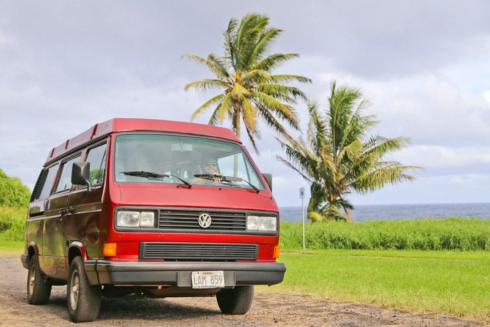 Aloha Outdoors Camper Rental for the Road to Hana, Maui