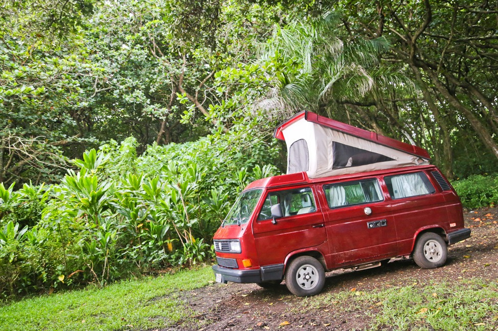 Road to Hana Camping Guide