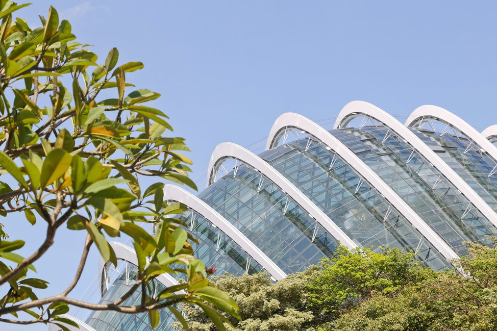 Flower Dome Conservatory Singapore
