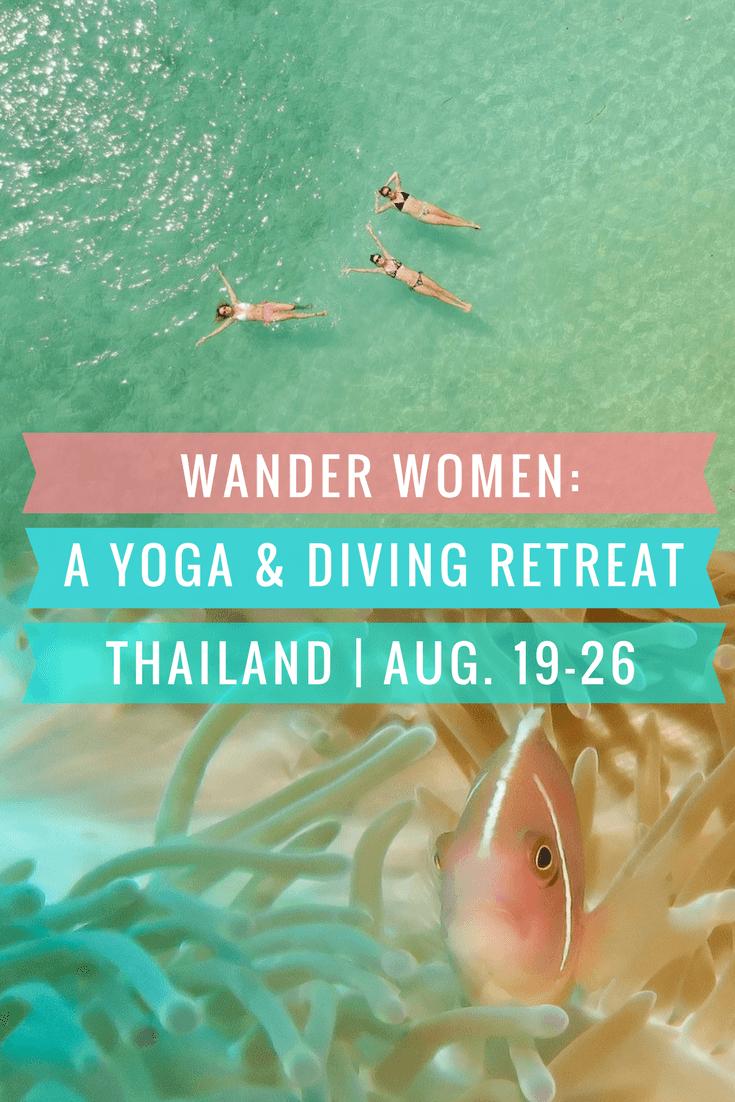 Wander Women: A Dive and Yoga Retreat