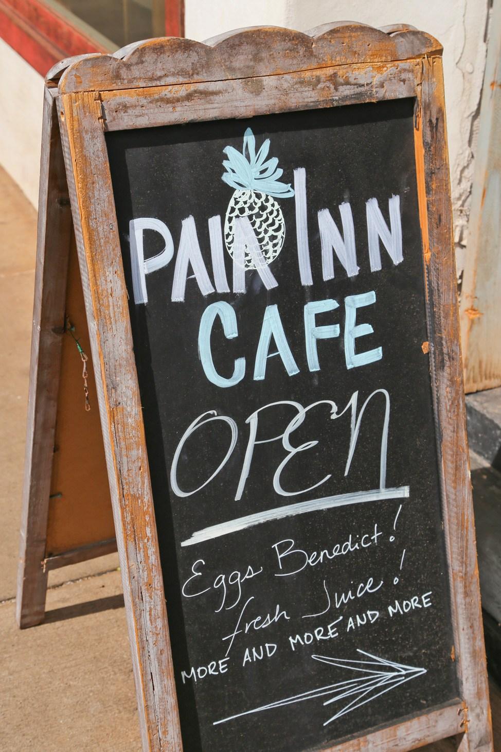 Paia Inn Cafe, Maui
