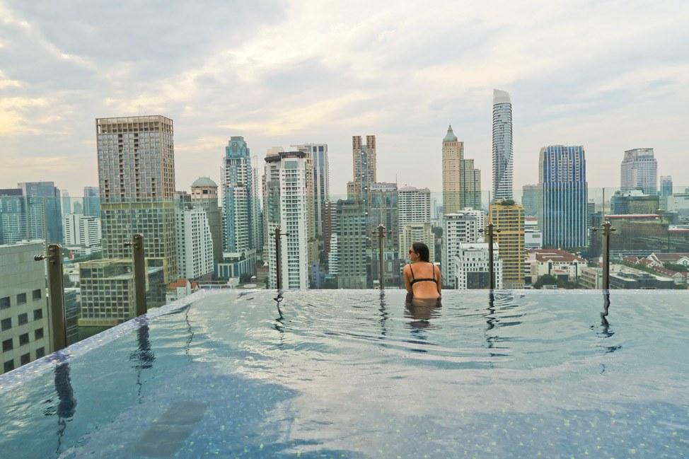 Pool at Hotel Indigo Bangkok