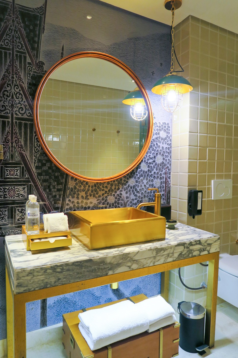 Bathroom at Hotel Indigo Bangkok
