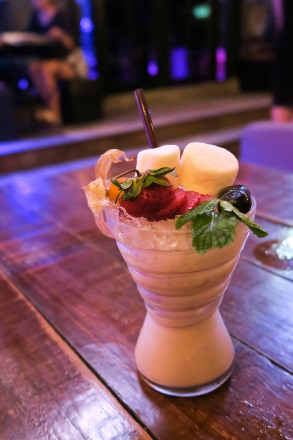 Cocktails at Myst Bangkok