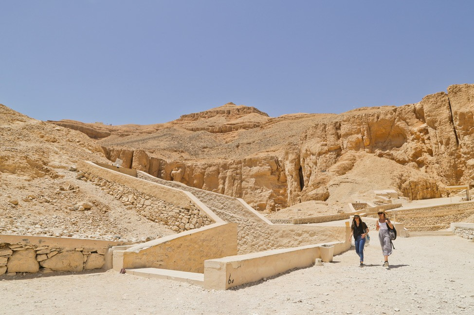 Visiting the Valley of Kings