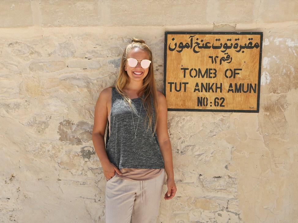 Visiting the Tomb of Tutankhamun