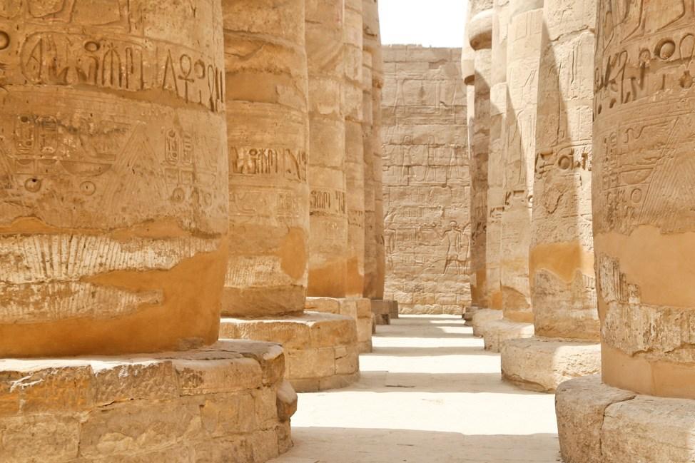 Visiting Karnak Temple in Luxor