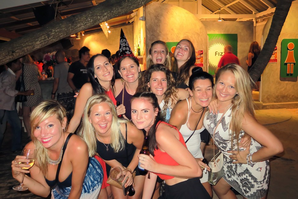 New Year's Eve in Koh Tao