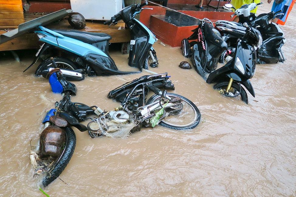 Koh Samui Flooding January 2017