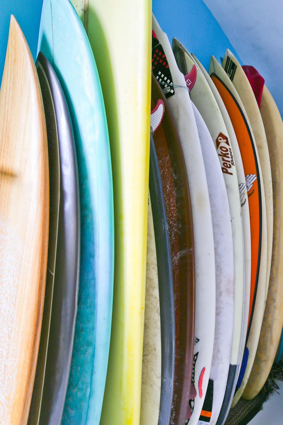 Surfboards in Bali