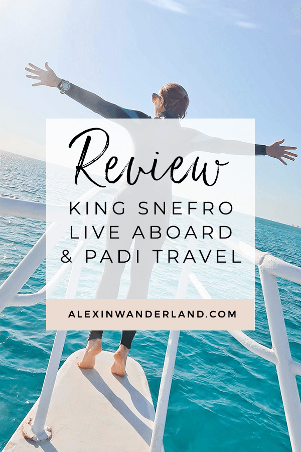 King Snefro Live Aboard Review
