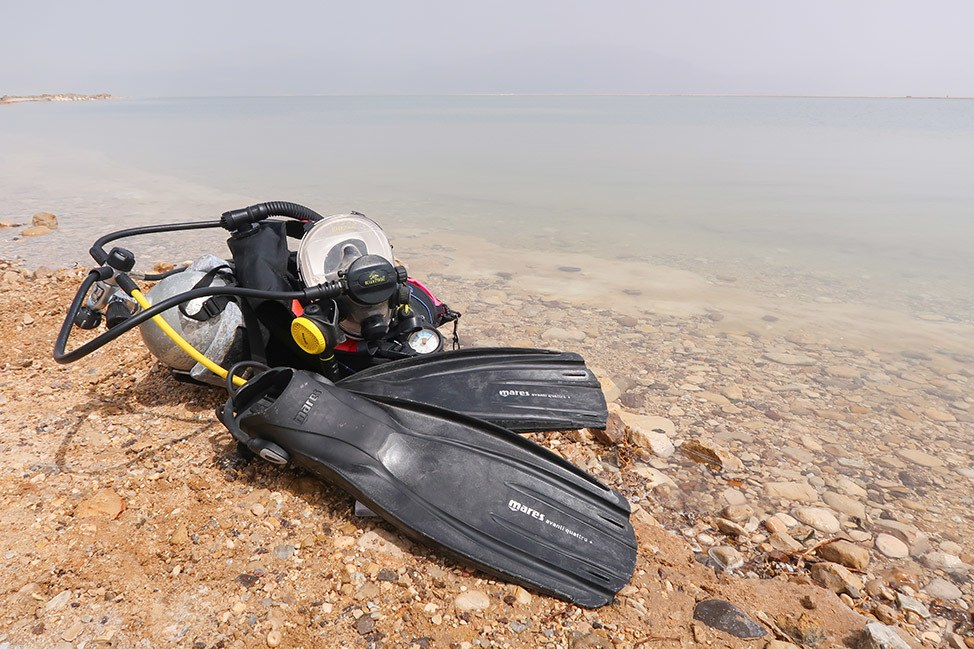Scuba Diving with Dead Sea Divers in Israel
