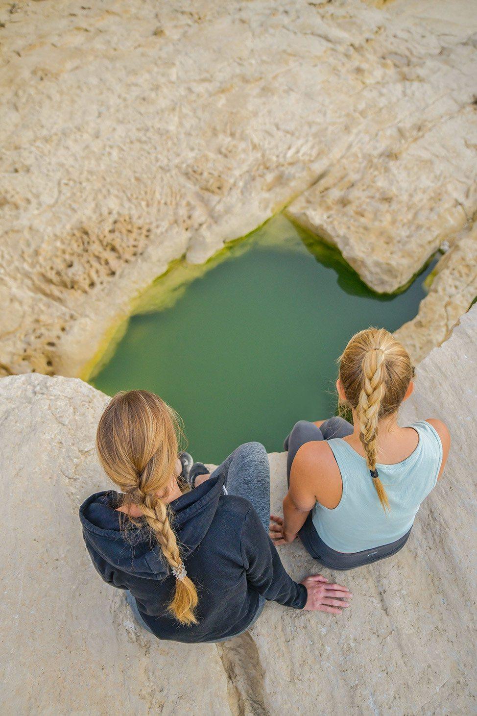 Desert Watering Hole in Israel
