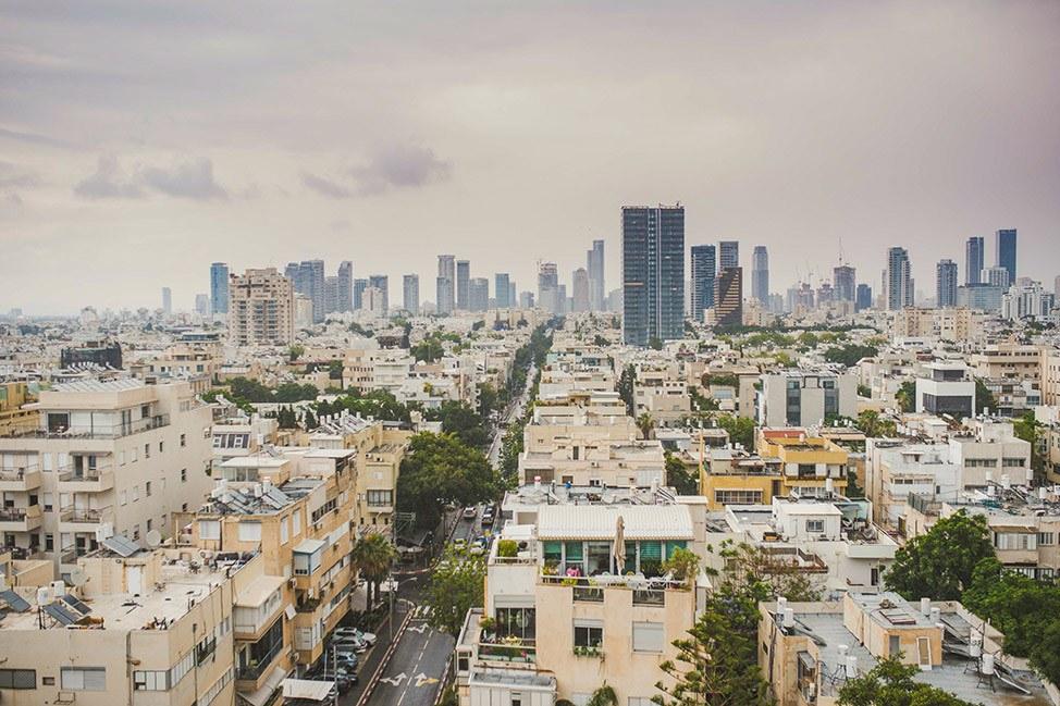 City Skyline in Tel Aviv