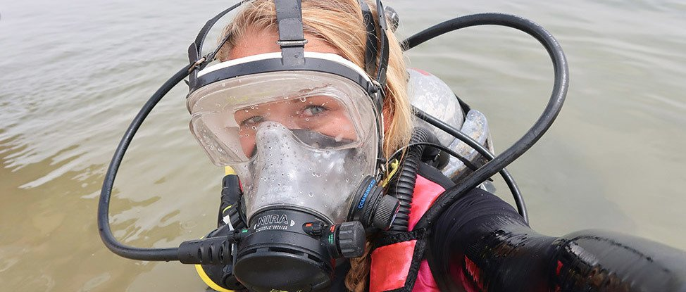 Diving Where Few Women Have Dived Before: Scuba Diving in the Dead Sea thumbnail