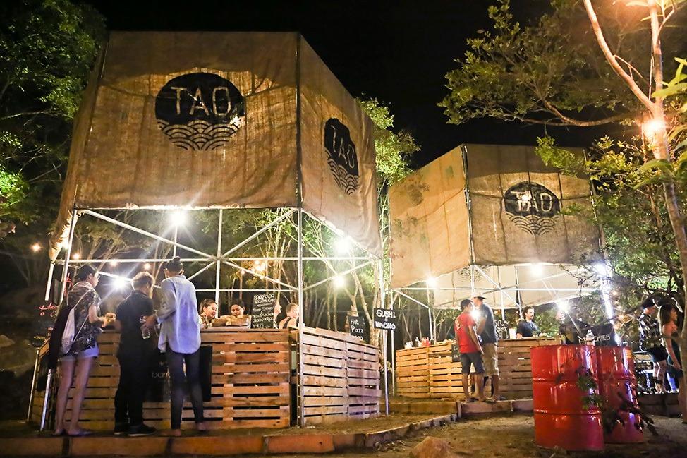 Food at Tao Festival 2017, Koh Tao, Thailand