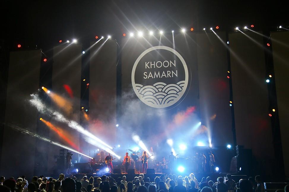 Khoon Samarn at Tao Festival 2017, Koh Tao, Thailand