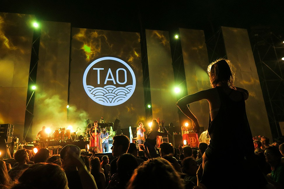 Arrested Development at Tao Festival 2017, Koh Tao, Thailand