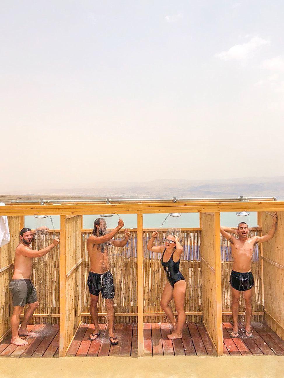 Kalia Beach, Dead Sea, Israel