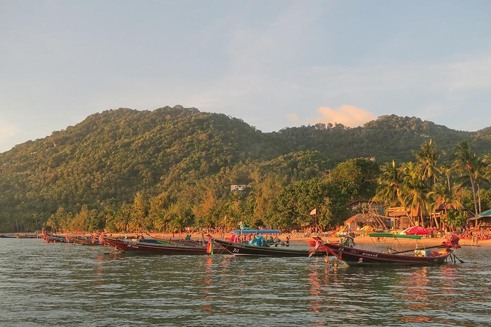 Sunset on Koh Tao
