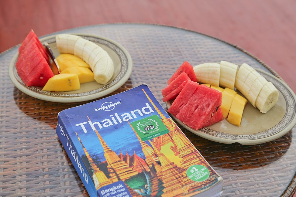 Lonely Planet Thailand guidebook
