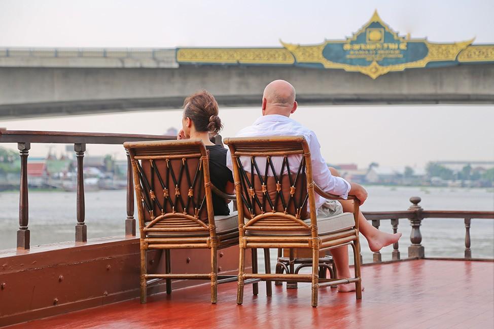 Mekhala River Cruise from Bangkok to Ayutthaya, Thailand