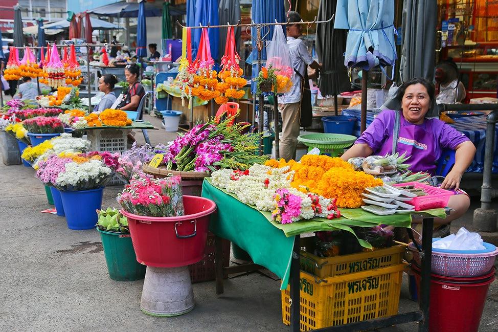 Pathum Thani Market, Thailand