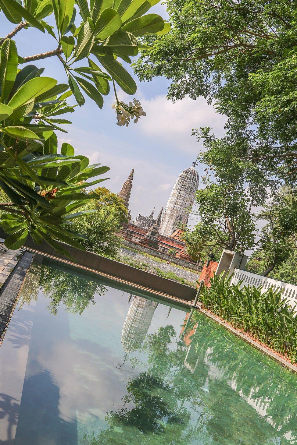 Pool at Iudia Hotel, Ayutthaya, Thailand