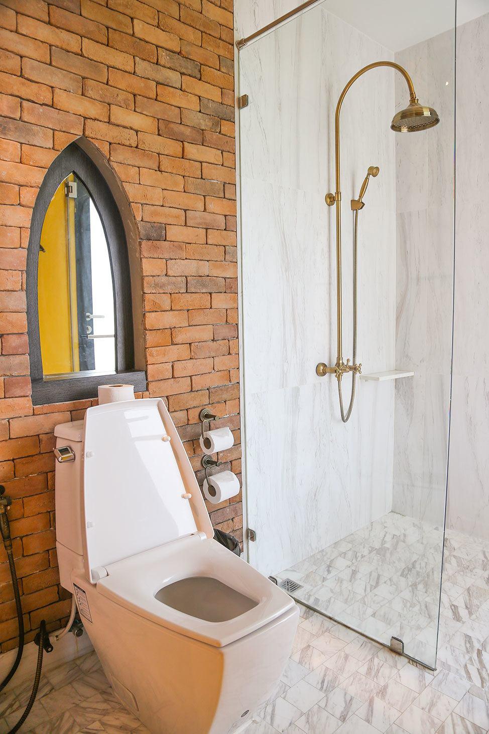 Bathroom at Iudia Hotel, Ayutthaya, Thailand