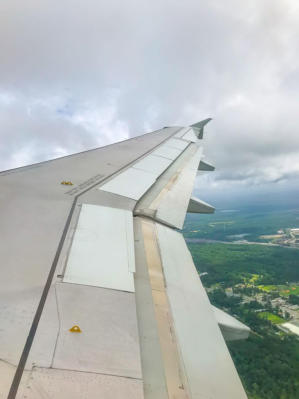Flying out of ALB