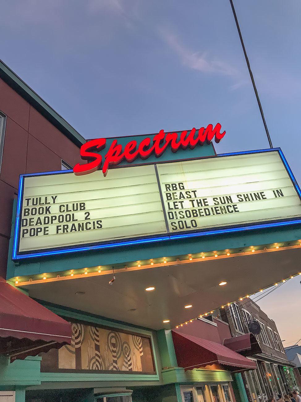 Spectrum Movie Theater, Albany