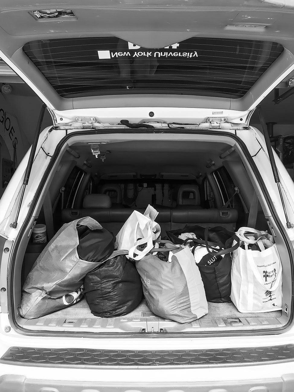 Donating clothes in Albany, NY