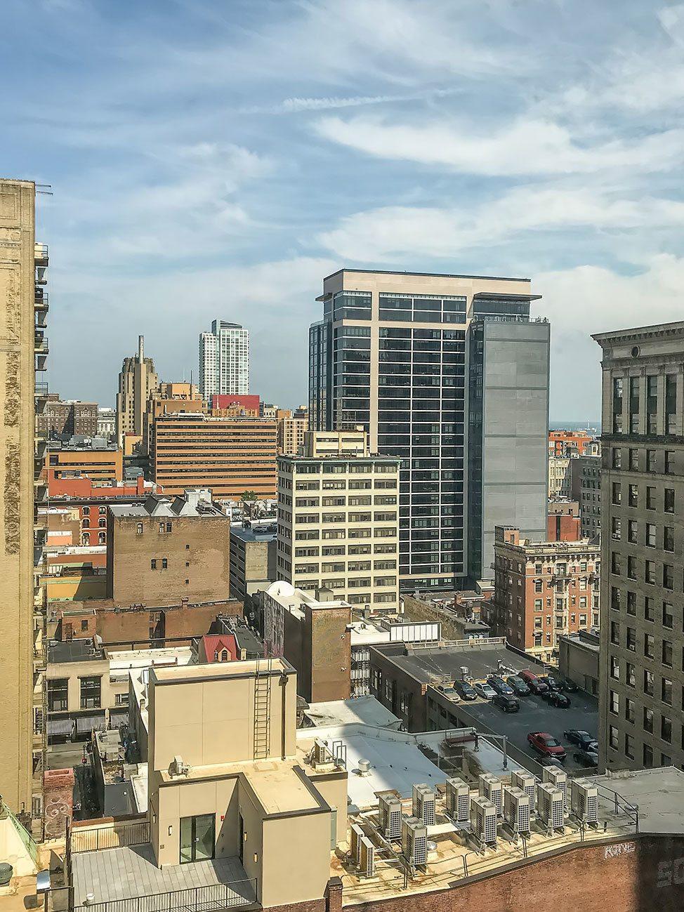 Philadelphia apartment views