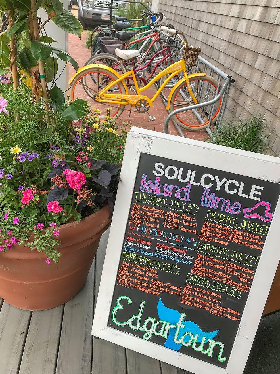 Soul Cycle, Martha's Vineyard