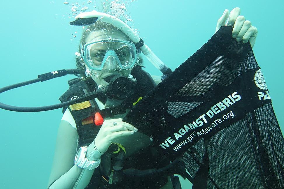 PADI Dive Against Debris at Master Divers, Koh Tao, Thailand