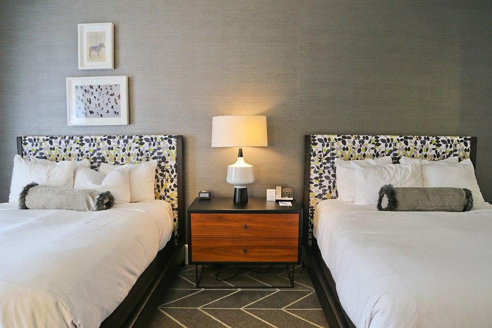 Guest room at Kimpton Brice, Savannah, Georgia