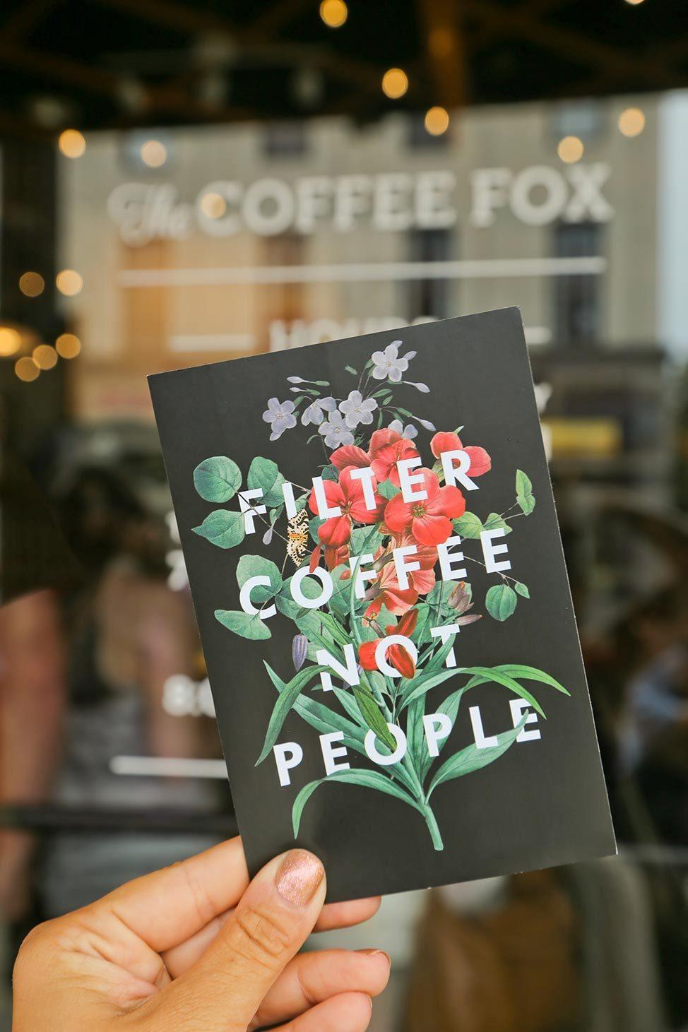 The Coffee Fox, Savannah, Georgia