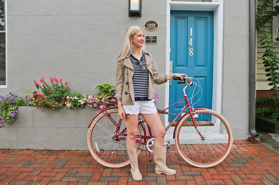 Biking in Savannah, Georgia