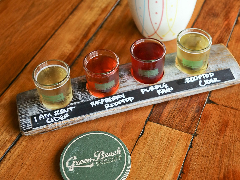 Green Bench Brewery, St. Pete, Florida