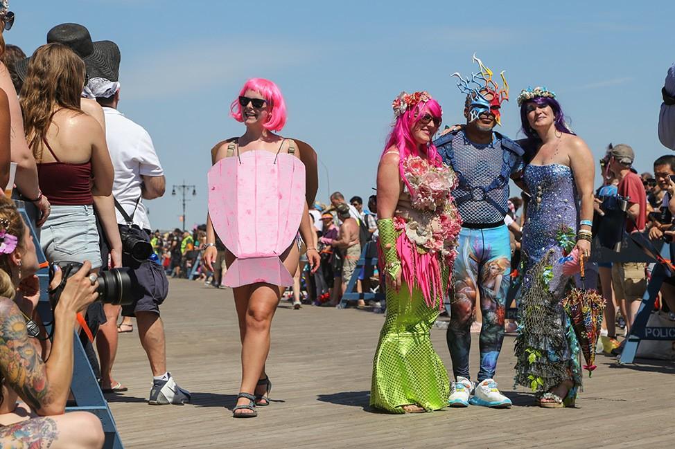 The Coney Island Mermaid Parade Review