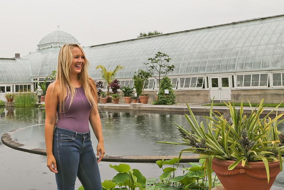 Georgia O'Keeffe at the New York Botanical Gardens, NYC
