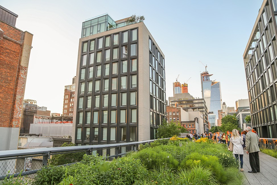 Summer on the High Line in NYC