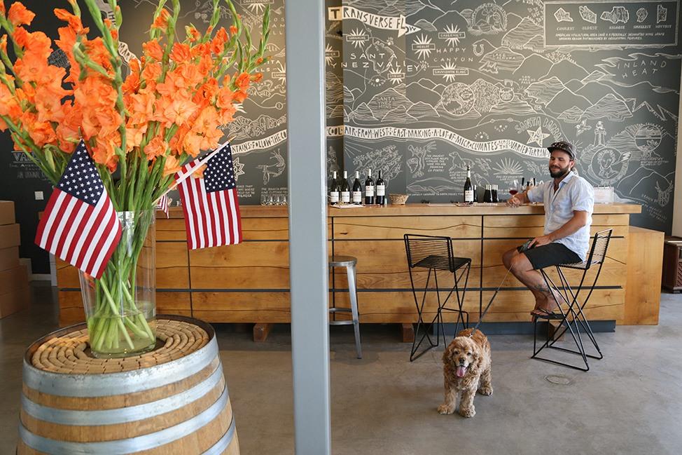 The Valley Project Santa Barbara Dog Friendly Winery